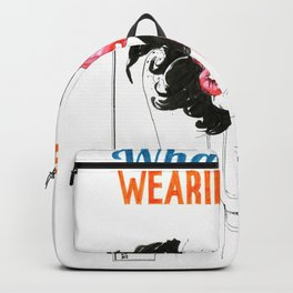 NUDEGRAFIA - 53 what are you wearing? Backpack