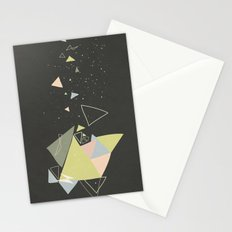 Exploding Triangles//Five Stationery Cards