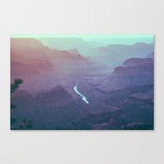 Early Morning Light - Grand Canyon South Rim Canvas Print