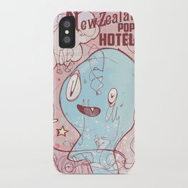 NewZealand Pop Hotel iPhone Case