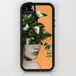 Lady Flowers Vlll iPhone Case