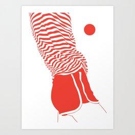 80's vibes I Art Print