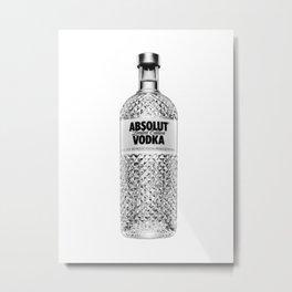 Absolut vodka 1 Metal Print