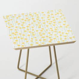 Buttercup Field M+M Evergreen by Friztin Side Table