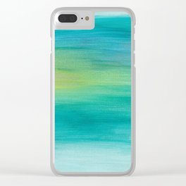 Ocean Series, 4 Clear iPhone Case