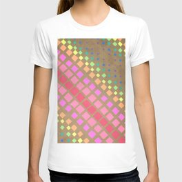 Multi Colored Squares T-shirt