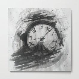 Time Won't Wait Metal Print