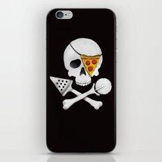 Pizza Raider iPhone & iPod Skin