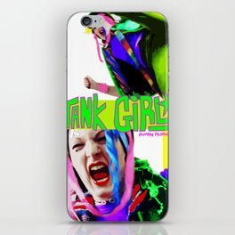 Tank Girl Lucy iPhone Skin