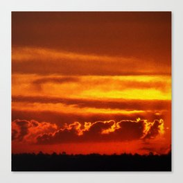 Sunset Layers | Ferntree Gully Canvas Print