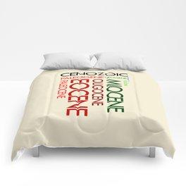 Cenozoic Eras, Ages and Epochs Comforters