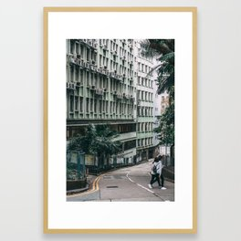 Morning in Hong Kong Framed Art Print