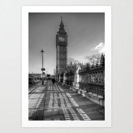 Big Ben, London Art Print
