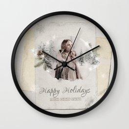 OUAT HAPPY HOLIDAYS // Emma Swan Wall Clock