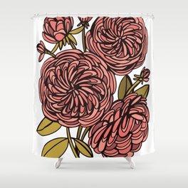 Heirloom Roses Shower Curtain