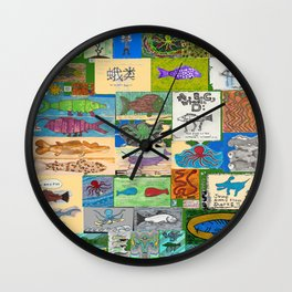 Kettle O Fish  Wall Clock