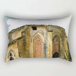 red stone charm Rectangular Pillow