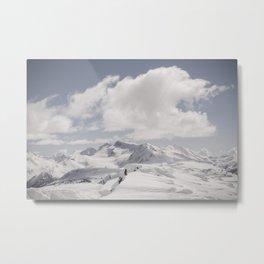 Whistler Summit Metal Print