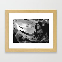 Keeper of Keys Framed Art Print