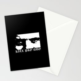 Kill Pro Quo Stationery Cards