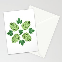 Beep Hops Medallion Stationery Cards