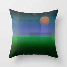 Prarie Sunset Throw Pillow