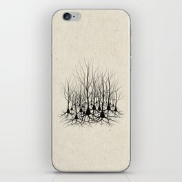 Pyramidal Neuron Forest iPhone Skin
