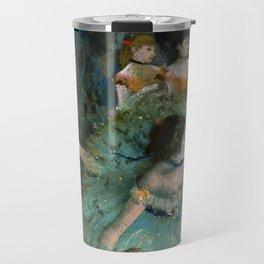"""Edgar Degas """"Danseuse basculant (Danseuse verte - The green dancer)"""" Travel Mug"""