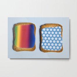 POP TOAST Metal Print