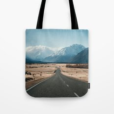 Road to Mt Cook Tote Bag