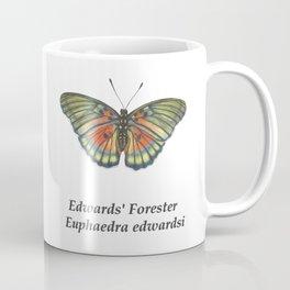 Edwards' Forester Euphaedra Edwardsi Butterfly Coffee Mug