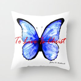 Alive in Christ by Joshua B. Wichterich Throw Pillow