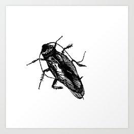 cucaracha #1 Art Print