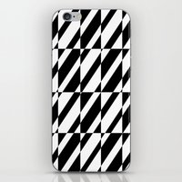 grid iPhone & iPod Skins featuring Grid by Laura Maria Designs