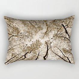 Sepia fall Rectangular Pillow