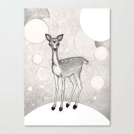 Three Eyed Deer Canvas Print
