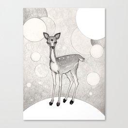 Three Eyed Deer Canvas Print