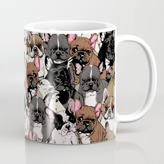 Social Frenchies Coffee Mug