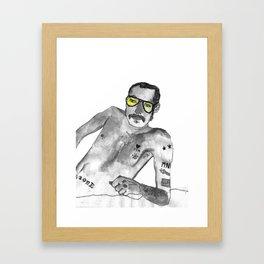 Terry Richardson Framed Art Print