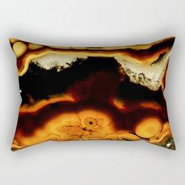 Fire Agate Rectangular Pillow