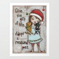 The Gift of Life - by stuDIo DUDA art Art Print
