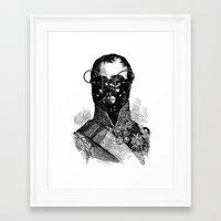 bdsm Framed Art Prints featuring BDSM XXVII by DIVIDUS
