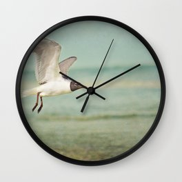 """""""The Seagull see farthest who flies highest."""" --Proverbs quote Wall Clock"""