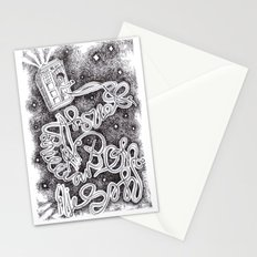 Allons-Y! Stationery Cards
