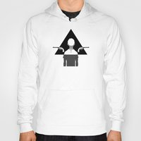 triangle Hoodies featuring triangle by r1ie