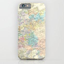 Vintage Map - Spruner-Menke Handatlas (1880) - 43 Germany in the Reformation 1492 - 1618 iPhone Case
