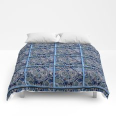 Blue windows Comforters