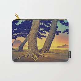 Domi's Heart at Sunset Carry-All Pouch