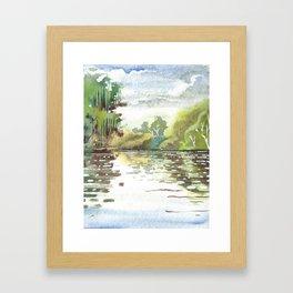 Black River, Briars Golf Course, Ontario Framed Art Print
