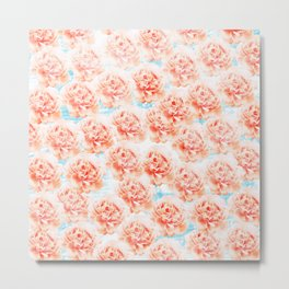 Abstract floral pattern 5 Metal Print